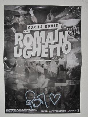 Sur la route avec Romain Ughetto