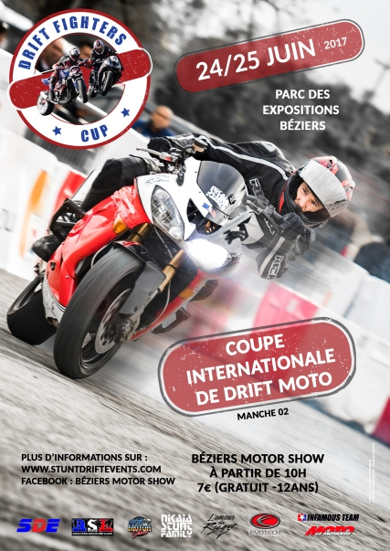 Conception Affiche Drift Fighters Cup
