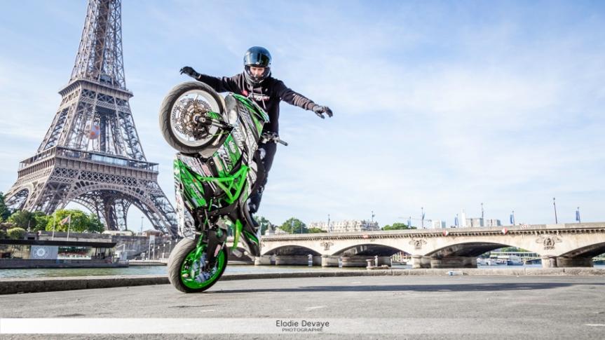 Guyguy stunt à Paris!