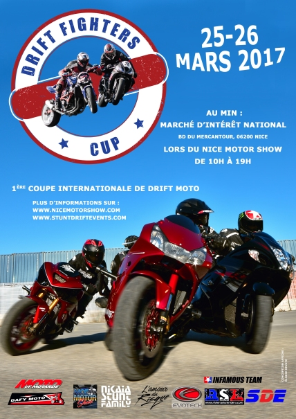 Affiche Drift Fighters Cup (manche n°1, Nice)