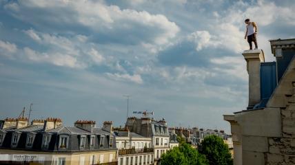 """Yoann """"Zéphyr"""" Leroux, fondateur de la French Freerun Family Freerun"""