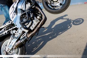 Sans l'ombre d'un doute, Cyril roule toujours ! © Elodie Devaye Photo non libre de droit.